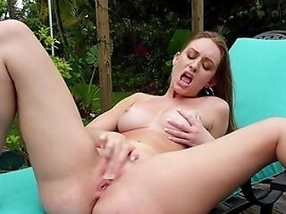Daisy Stone's Natural Tits Will Love The Warm Summer Breeze
