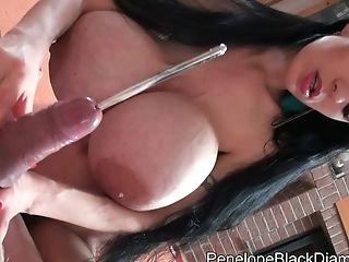 Penelope Black Diamond - Cock And Ball Torture Deviant Pornography Flick