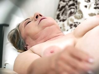 Deviant Youthful Dude Fucks Old Whore Kata And Cums On Her Hairy Obese Cunt