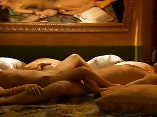 Intimate Lovemaking With Exotic Indian Duo