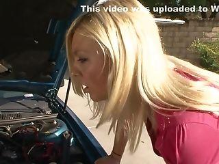 Exotic Pornographic Star In Fabulous School, Blonde Hookup Movie