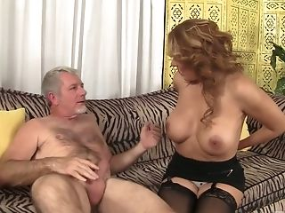 Wondrous Too Suntanned Cougar Nicky Ferrari Loves Nothing But Missionary Fuck