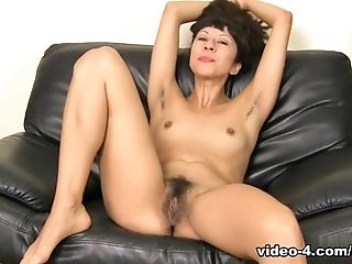 Incredible Pornographic Star Vivi Marie In Amazing Solo Damsel, Hairy Pornography Clip