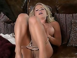 Yummy Blonde Bitch Ainsley Addison Adores Voluptuous Fingerblasting Of Her Cock-squeezing Fuckbox!