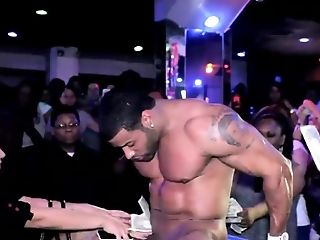 Splendid Black Masculine Strippers With Big Black Cock