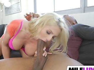 Big Black Dick For Blonde Mummy