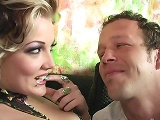 Smoking Hot Candy Monroe Fucks With A Friend On The Couch