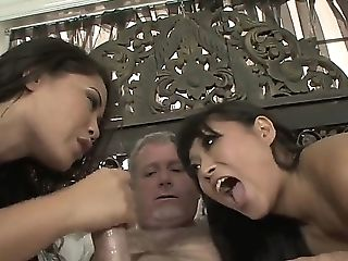 Hot Asians Yuki Mori And Jessica Bangkok Are Having A Phat Dick To Share In Wild Threesome