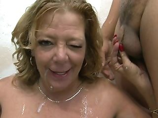 Raunchy Matures Bitch Karen Summer Gets Gang-fucked Like Never Before
