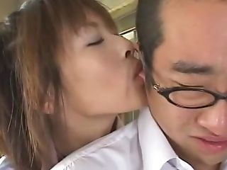 Crazy Japanese Nymph Nana Natsume In Amazing Big Tits, Pussy Eating Jav Clip