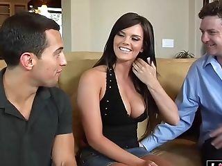Amazing Arousing Wifey Gets Dual Intrusion
