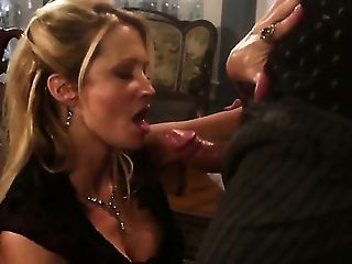 Jessica Drake Makes Man Glad By Sucking His Sturdy Snake