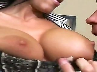 Sexy Chief Billy Slip Having Joy With His Ultra Sexy And Big-titted Assistant Veronica Rayne