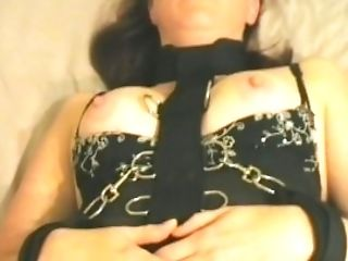 Nip Clips And Restrain Bondage For Super-cute Sandy-haired
